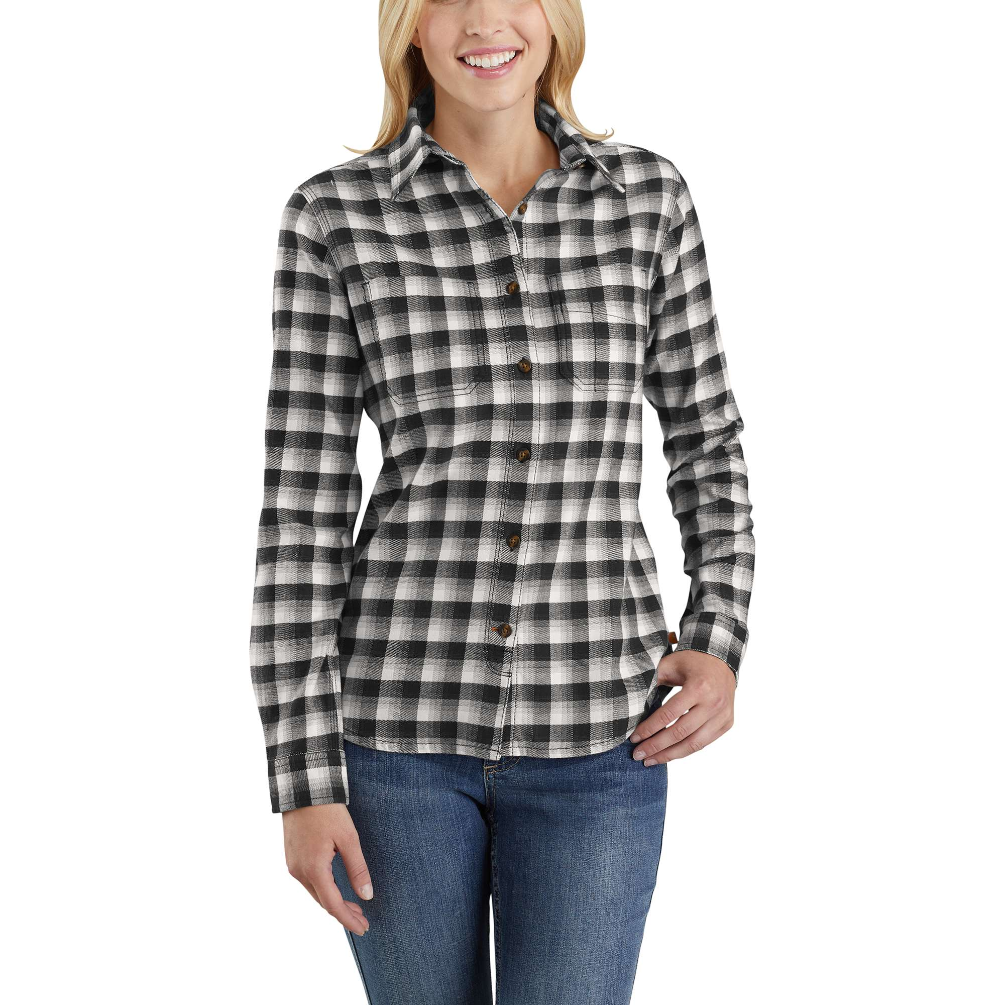 6ad9bb8f1664 Women s Rugged Flex® Hamilton Flannel Shirt 103226