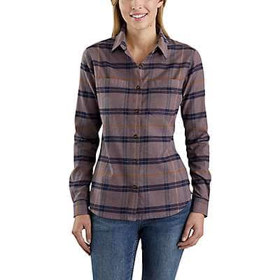 Carhartt  Natural Rugged Flex® Hamilton Flannel Shirt - front