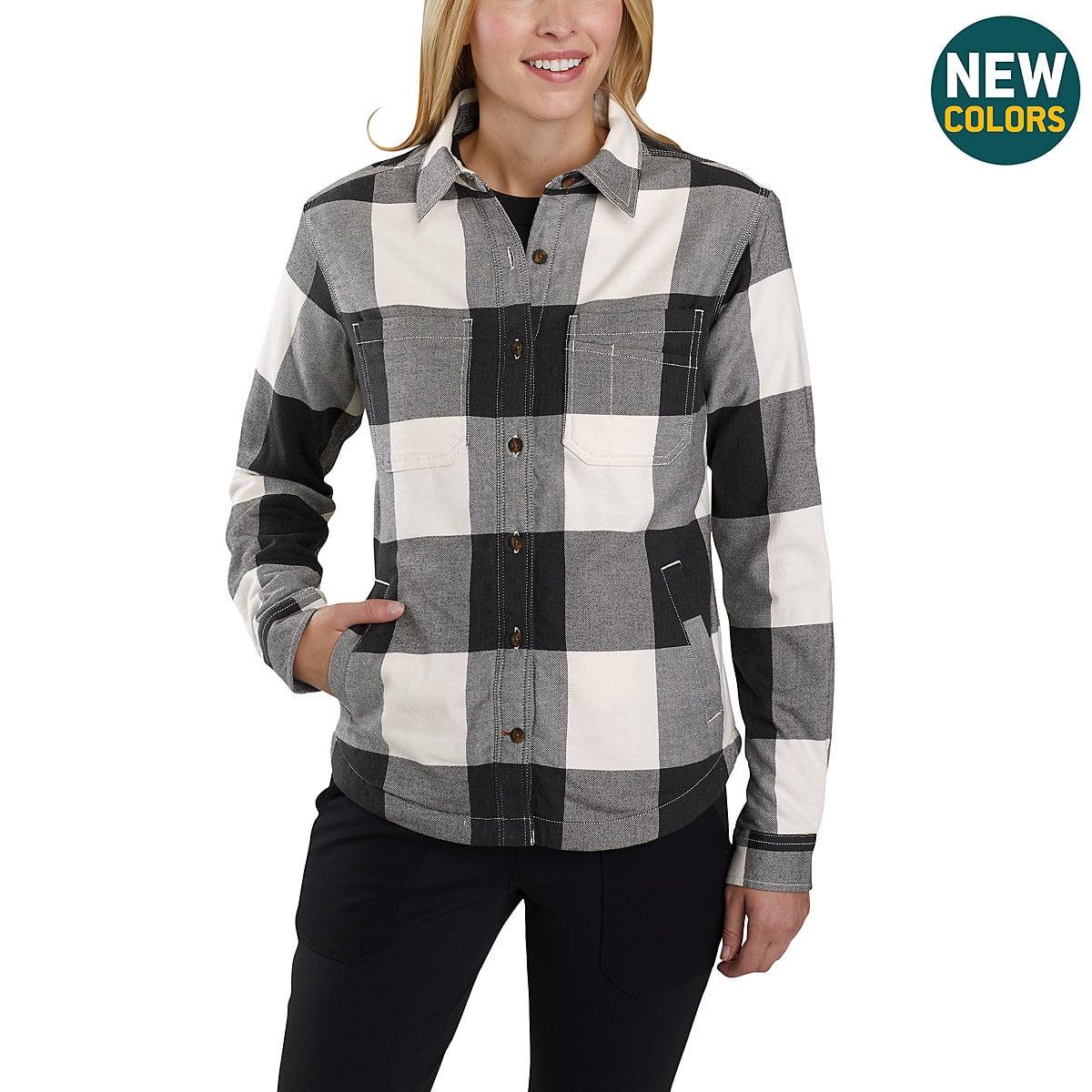 c3840ac7db Women s Rugged Flex® Hamilton Fleece-Lined Shirt