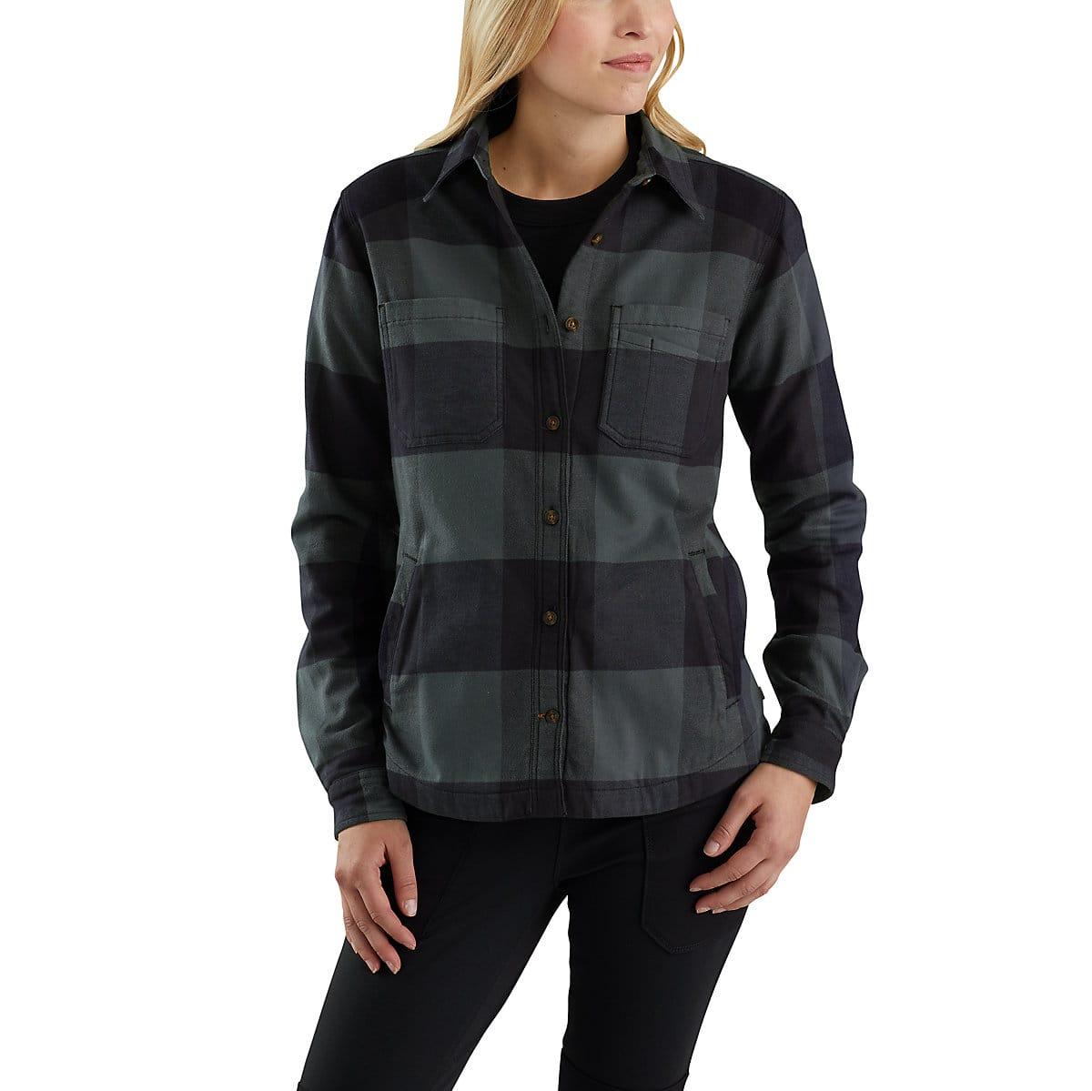 3f06a6ca8 Womens Fleece Lined Flannel Shirt – EDGE Engineering and Consulting ...