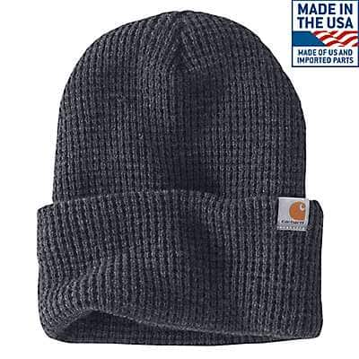 Carhartt Men's Coal Heather Woodside Hat - front