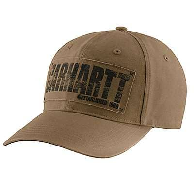 Carhartt Men's Canyon Brown Wilson Cap - front
