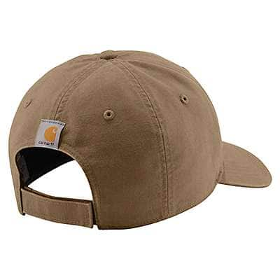 Carhartt Men's Canyon Brown Wilson Cap - back