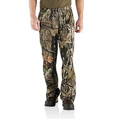 Carhartt Men's Mossy Oak Break-Up Country Stormy Woods Camo Pant - front