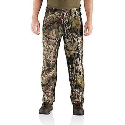 Carhartt Men's Mossy Oak Break-Up Country Buckfield Camo Pant - front