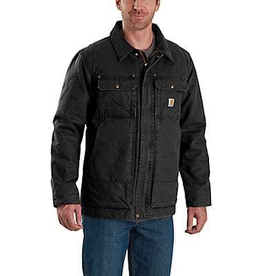 Carhartt Men's Black Full Swing® Armstrong Traditional Coat - front