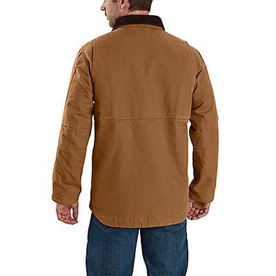 Carhartt Men's Black Full Swing® Armstrong Traditional Coat - back