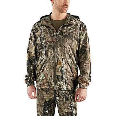 Carhartt Men's Mossy Oak Break-Up Country Stormy Woods Camo Jacket - front