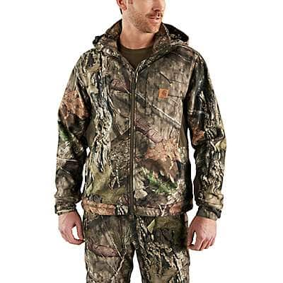Carhartt Men's Mossy Oak Break-Up Country Buckfield Camo Jacket - front