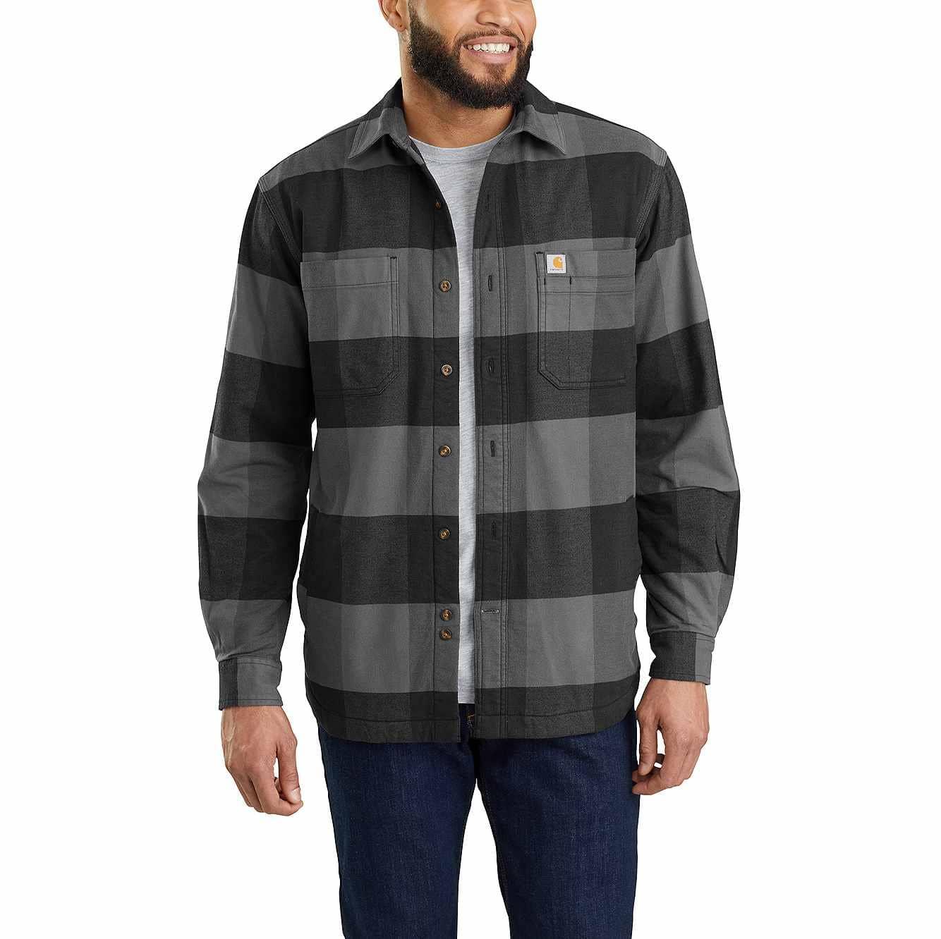 Rugged Flex® Hamilton Fleece-Lined Shirt Jac