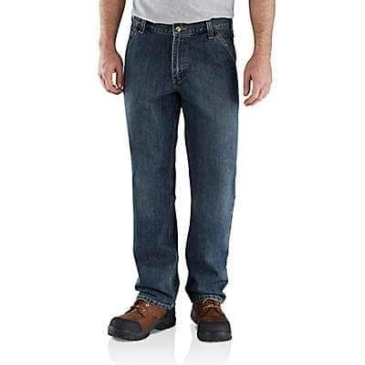 Carhartt Men's Blue Ridge Relaxed Fit Utility Jean