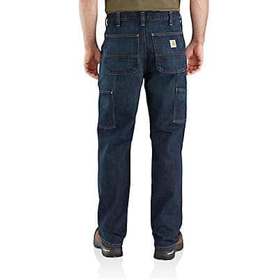 Carhartt Men's Blue Ridge Relaxed Fit Holter Double-Front Dungaree Jean - back