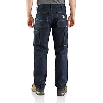 Carhartt Men's Erie Rugged Flex® Relaxed Double Front Jean - back