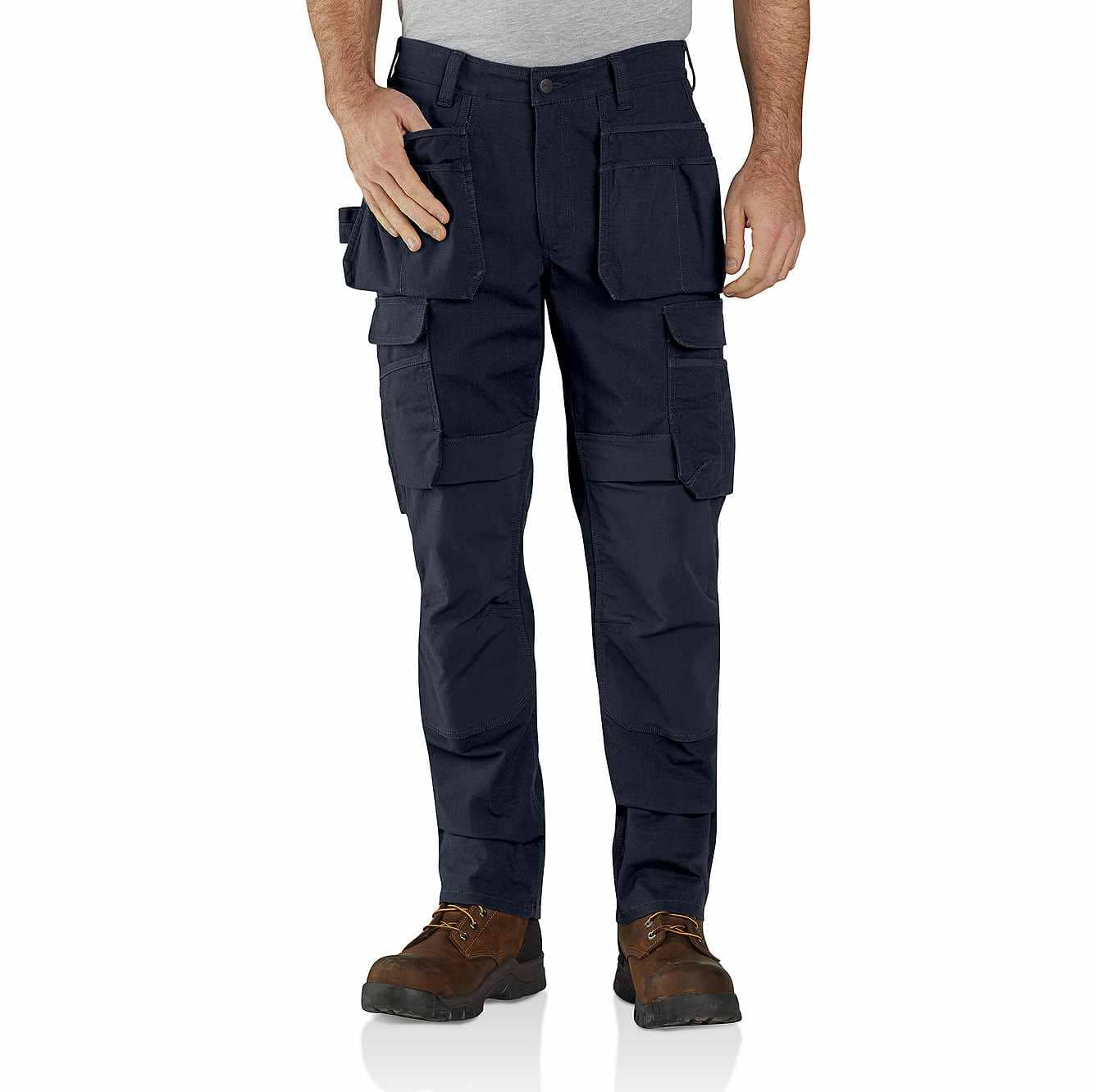 Picture of Rugged Flex Steel Cargo Multi-Pocket Pant in Navy