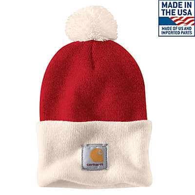 Carhartt Men's Red Lookout Hat - front