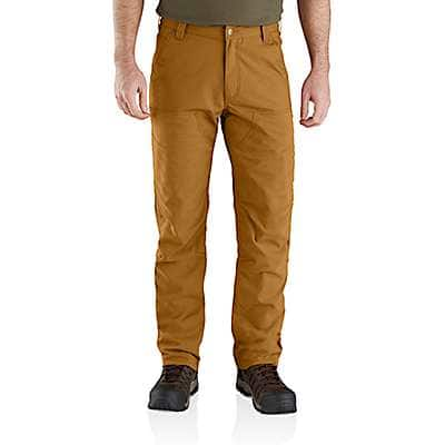 Carhartt Men's Carhartt Brown Rugged Flex® Upland Field Pant - front