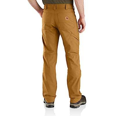 Carhartt Men's Canyon Brown Rugged Flex® Upland Field Pant - back