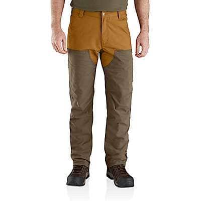 Carhartt Men's Canyon Brown Rugged Flex® Upland Field Pant - front