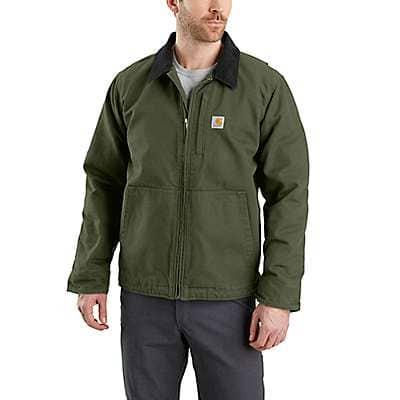 Carhartt Men's Black Full Swing® Armstrong Jacket - front