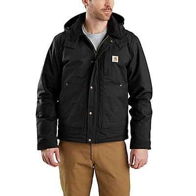 Carhartt Men's Black Full Swing® Steel Jacket - front