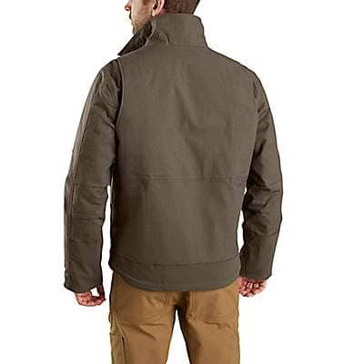 Carhartt Men's Black Full Swing® Steel Jacket - back