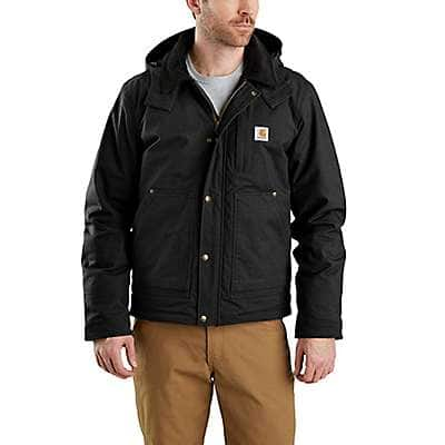Carhartt Men's Black Full Swing® Relaxed Fit Ripstop Insulated Jacket