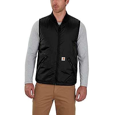 Carhartt Men's Black Shop Vest - front