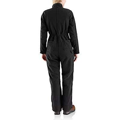 Carhartt Women's Black Wildwood Coverall - back