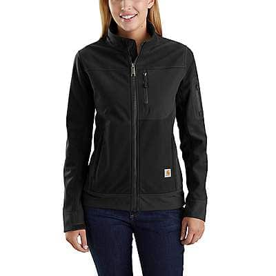Carhartt Women's Black Kentan Jacket - front