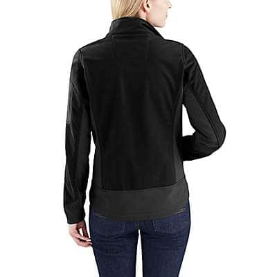 Carhartt Women's Black Kentan Jacket - back
