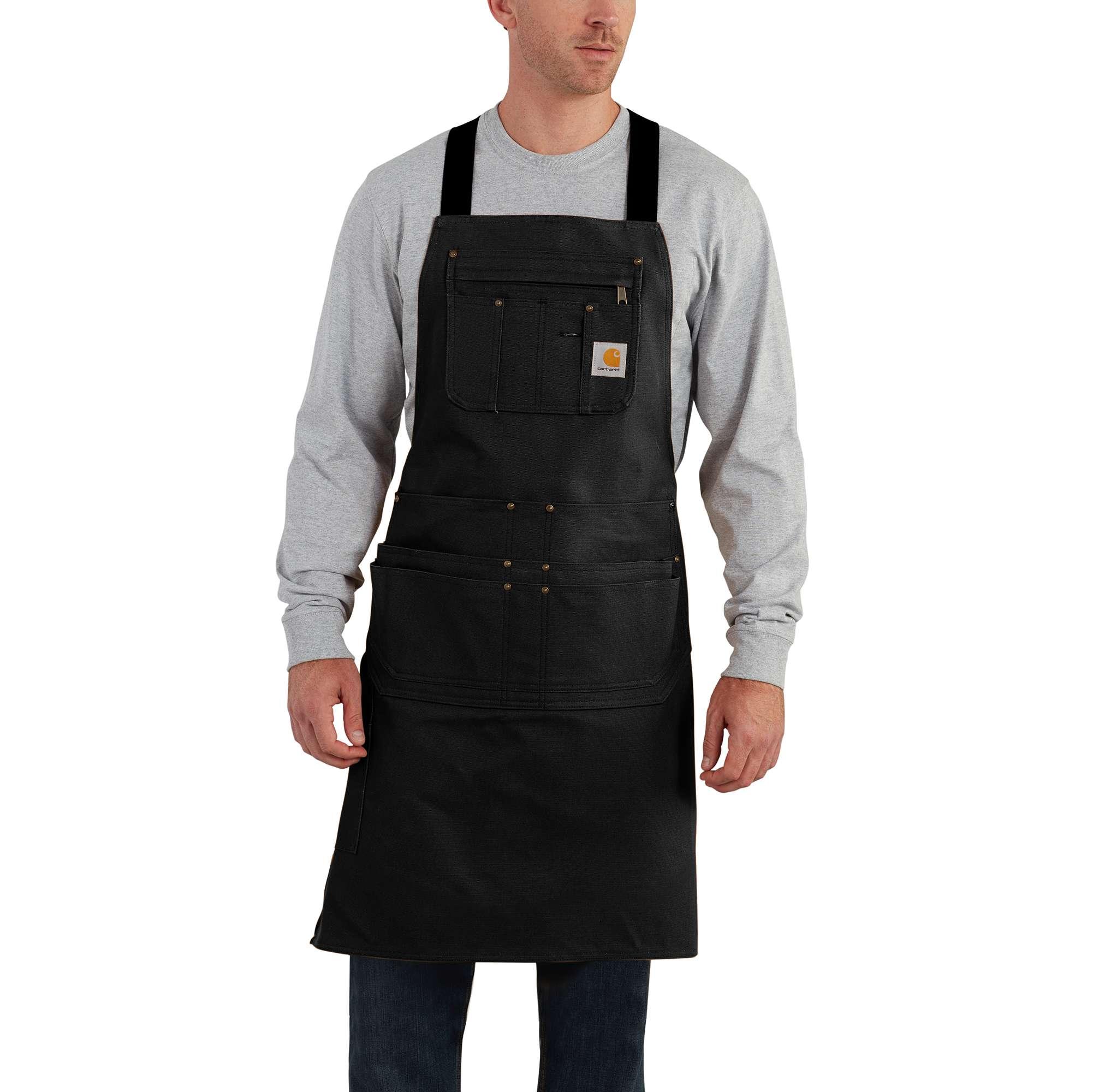 BFY Women Men/'s Apron Shoulder Straps Waist Tie With 2 Front Pockets for Artist