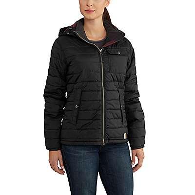Carhartt Women's Black W Amoret Jacket - front