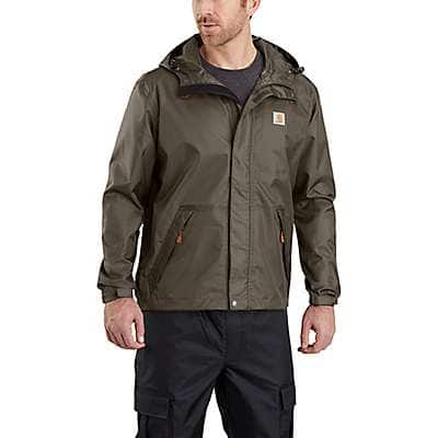 Carhartt Men's Tarmac Dry Harbor Waterproof Breathable Jacket - front