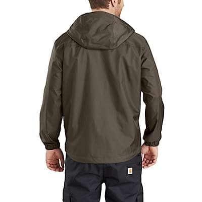 Carhartt Men's Tarmac Dry Harbor Waterproof Breathable Jacket - back