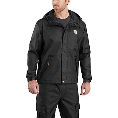 Carhartt Men's Black Storm Defender® Loose Fit Midweight Jacket