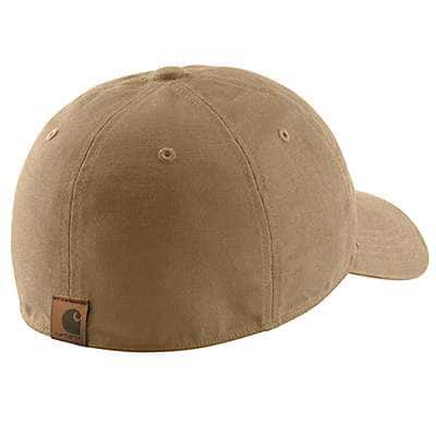 Carhartt  Peat Rigby Leatherette Patch Cap - back