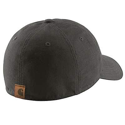 Carhartt Men's Peat Rigby Leatherette Patch Cap - back