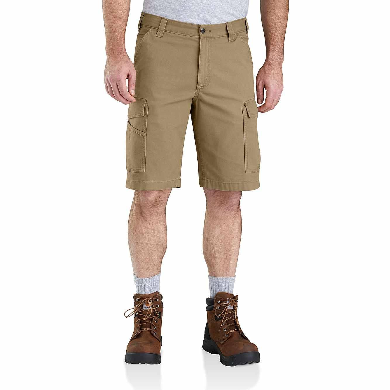 Picture of Rugged Flex® Rigby Cargo Short in Dark Khaki