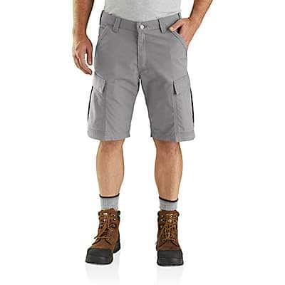 Carhartt Men's Bluestone Carhartt Force® Broxton Cargo Short - back