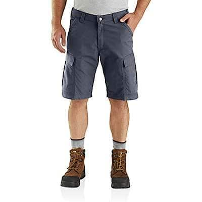 Carhartt Men's Bluestone Carhartt Force® Broxton Cargo Short - front