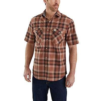 Carhartt Men's Sequoia Rugged Flex Bozeman Short-Sleeve Shirt - front
