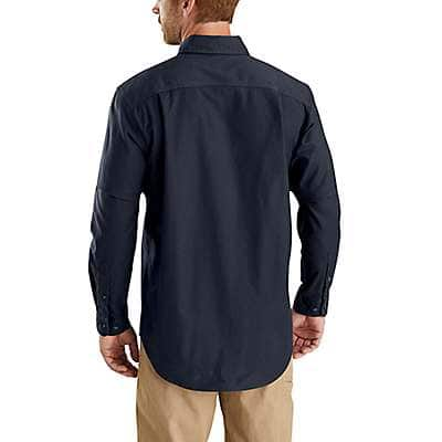 Carhartt Men's Port Rugged Flex Rigby Long-Sleeve Work Shirt - back