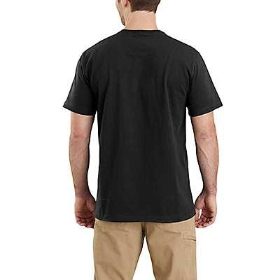 Carhartt  Black Lubbock USA Graphic Short-Sleeve T-Shirt - back