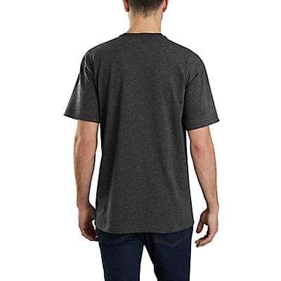 Carhartt  Carbon Heather Lubbock Craftsmanship Graphic Short-Sleeve T-Shirt - back