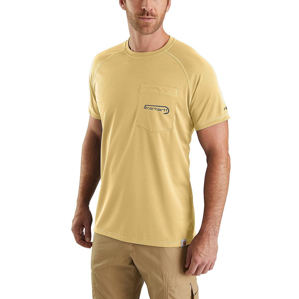 325d7422d Men's Carhartt Force® Fishing Graphic Short-Sleeve T-Shirt | Carhartt