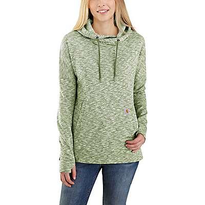 Carhartt Women's Ultramarine Green Newberry Hoodie - front
