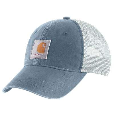 Carhartt  Steel Blue Buffalo Cap - front
