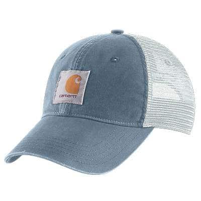 Carhartt Women's Steel Blue Buffalo Cap - front