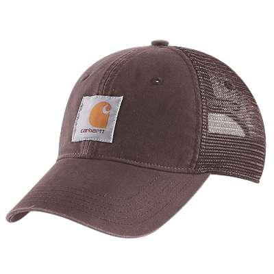 Carhartt Women's Deep Wine Buffalo Cap - front