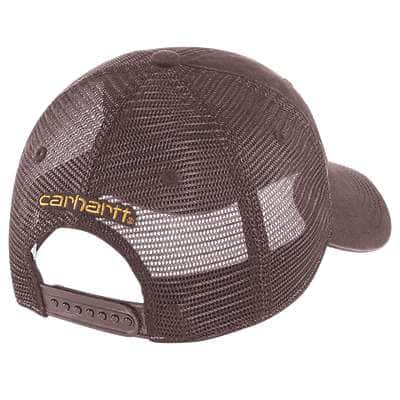 Carhartt Women's Deep Wine Buffalo Cap - back